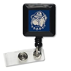Buy Georgetown Hoyas Official NCAA 1x1 Retractable Badge Holder Keychain by WinCraft