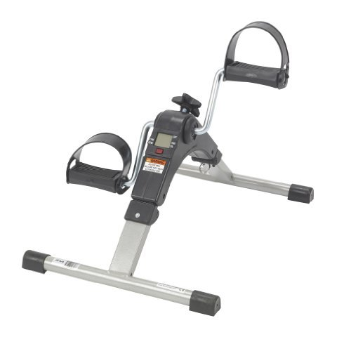 Drive Medical Deluxe Electronic Folding Exercise Peddler