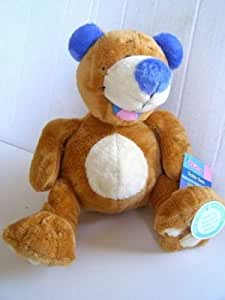 Amazon.com: Nuby Tickle Toes Bear Plush Toy: Baby
