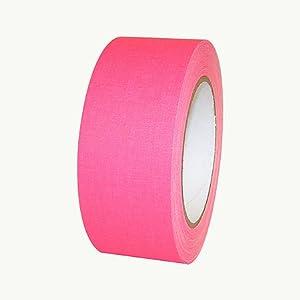 Polyken 510-Neon Premium Fluorescent Gaffers Tape: 2 in. x 75 ft. (Fluorescent Pink)