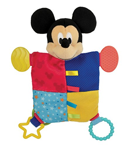 Kids Preferred Disney Flat Blanky Teether, Mickey Mouse
