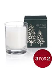 Fir Tree Filled Candle