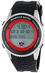 Buy Game Time Mens MLB Schedule Series Watch - Los Angeles Angels by Game Time