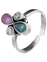 Jewels Cart Sterling Silver Toe Ring For Women - B018QT6RG2