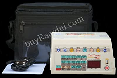 Taal Tarang POWER Electronic Tabla 2014-2015 by Sound Labs- With Bag, Manual (PDI-HC) by taal tarang Power at Sound Labs