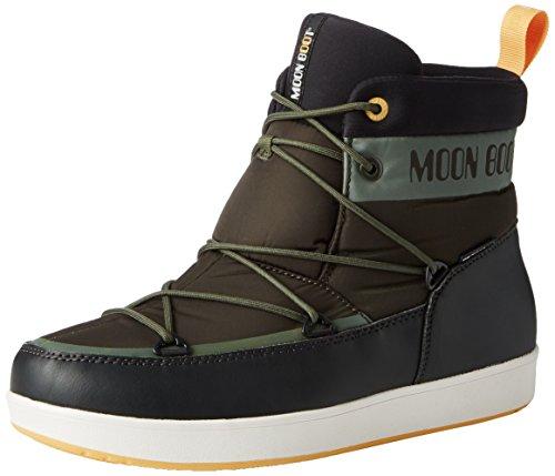 Moon Boot Neil, Stivaletti, Unisex - adulto, Verde (G.Oliva/Nero/Ocra), 41.5