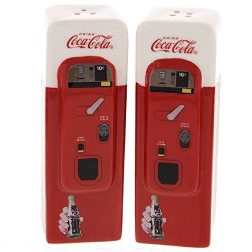 Coca-Cola Vending Machine Salt and Pepper Set