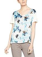 Dimensione Danza Camiseta Manga Corta (Crema / Azul)
