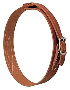 Weaver Leather All Harness Leather Cribbing Strap, Russet
