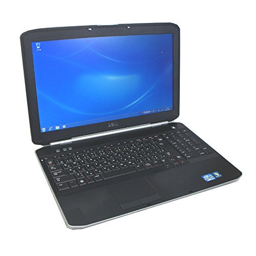 DELL 中古パソコン 15.6ワイド Wi-Fiノート オフィス付 Latitude E5520 Core i3 2.30GHz 2GB 250GB DVDスーパーマルチ Windows7 Pro32bit 無線LAN