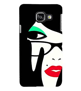 Mole beauty Girl 3D Hard Polycarbonate Designer Back Case Cover for Samsung Galaxy A3 :: Samsung Galaxy A3 Duos :: Samsung Galaxy A3 A300F A300FU A300F/DS A300G/DS A300H/DS A300M/DS