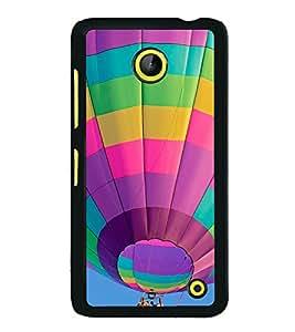 printtech Hot Air Balloon Colored Back Case Cover for Nokia Lumia 630