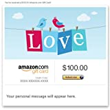 Amazon Gift Card - E-mail - Love