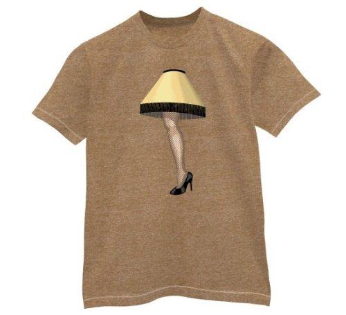 Leg Lamp - Buy Leg Lamp - Purchase Leg Lamp (Direct Source, Direct Source Shirts, Direct Source Womens Shirts, Apparel, Departments, Women, Shirts, T-Shirts)