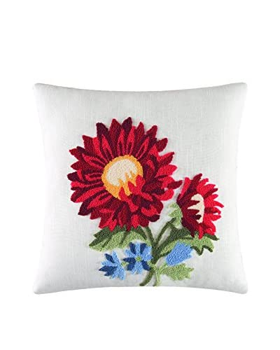 Madeline Tufted Aster Pillow, Multi
