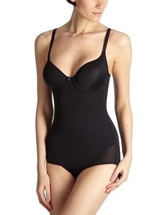 Playtex Expert In Silhouette - Body Gainant - Uni - Femme - Noir - 90B
