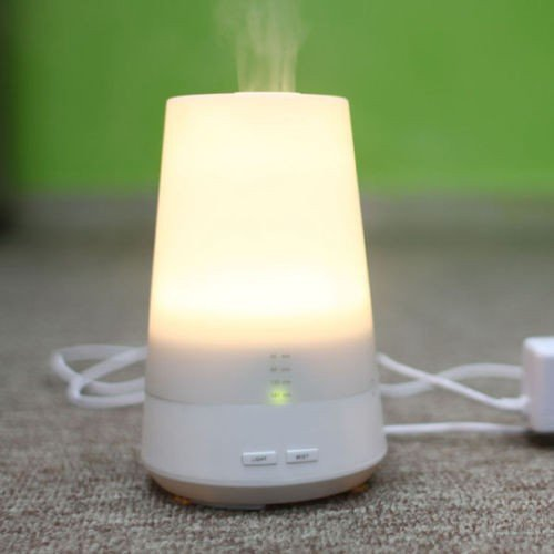 Aromatherapy Essential Oil Diffuser with Ultrasonic Cool Mist from Blue Willow AromatherapyTM Electric Essential Oils Diffuser Humidifier has Adjustable Light & Timer Settings & Auto Shut Off. Enhance Your Living & Sleeping Space with Great Aroma!