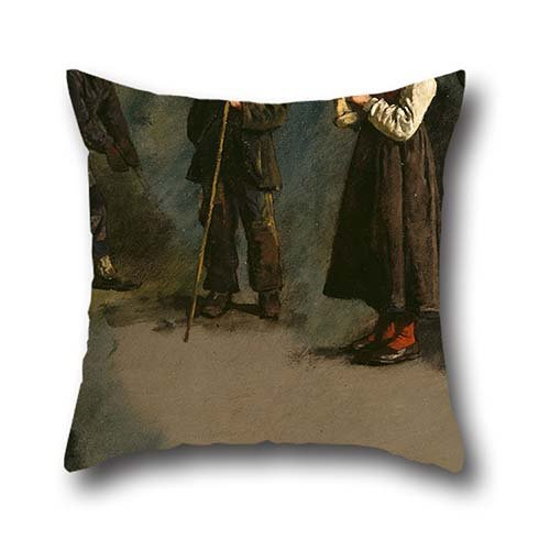 Cushion Cases Of Oil Painting Anders Askevold - Figure Studies,for Adults,relatives,dinning Room,car,family,seat 16 X 16 Inches / 40 By 40 Cm(2 Sides) (Killer Bunnies Quest Green compare prices)
