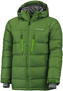 Columbia Herren Funktionsjacke Alaskan II Down Hooded Jacket, dark backcountry, XXL, WM5491