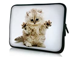 kitten laptop sleeve case