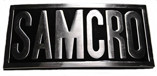 Sons of Anarchy SAMCRO Embossed Metal BELT BUCKLE