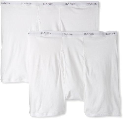 Hanes Men's 2 Pack Ultimate Big Boxer Brief