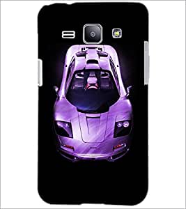 PrintDhaba Car D-4393 Back Case Cover for SAMSUNG GALAXY J1 (Multi-Coloured)