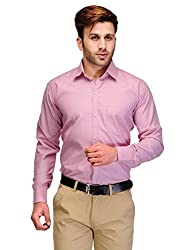 Formals by Koolpals-Cotton Blend Shirt Pink Self
