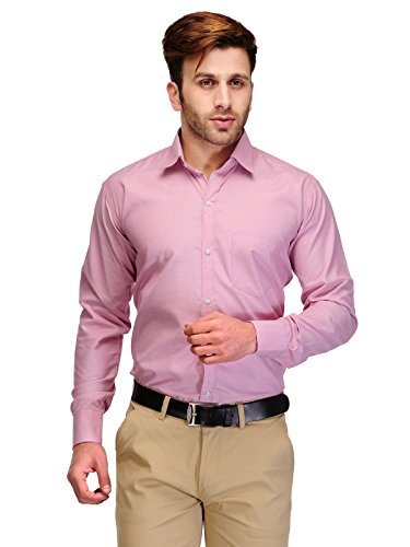 Formals-by-Koolpals-Cotton-Blend-Shirt-Pink-Self