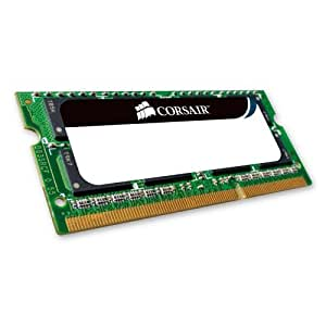 Corsair Simm Memoria RAM, SO DDRII, PC667, 2GB, CL5 VS, Nero