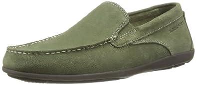 Rockport Men's Cape Noble 2 Loafer Flats Green Vert (Olive Grn Wsh Sde) 7 UK (40 EU)