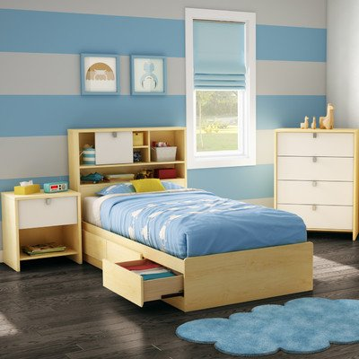 SALE !!! Cookie Twin Storage Bedroom Collection Finish: Champagne ...