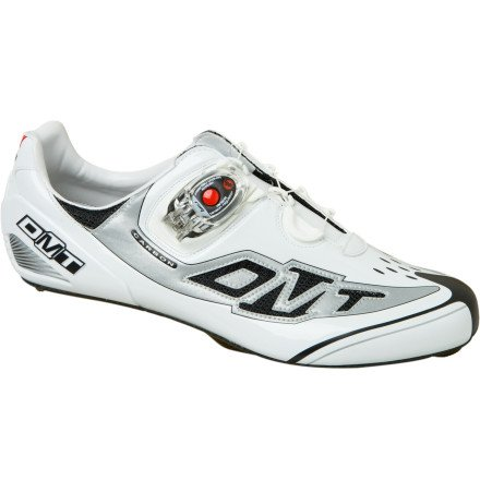 DMT Prisma Speedplay Shoe - Men's White/Silver, 44.5