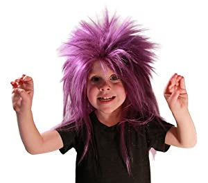 My Costume Wigs Evil Minion Punk Wig (Purple) One Size fits all