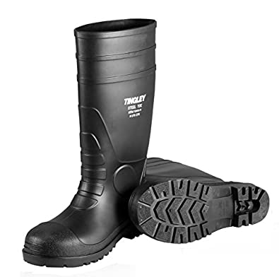 Tingley 31151 Economy SZ4 Kneed Boot for Agriculture, 15-Inch, Black
