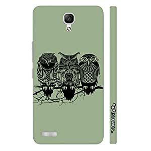 Xiaomi Redmi Note FOUL OWL designer mobile hard shell case by Enthopia