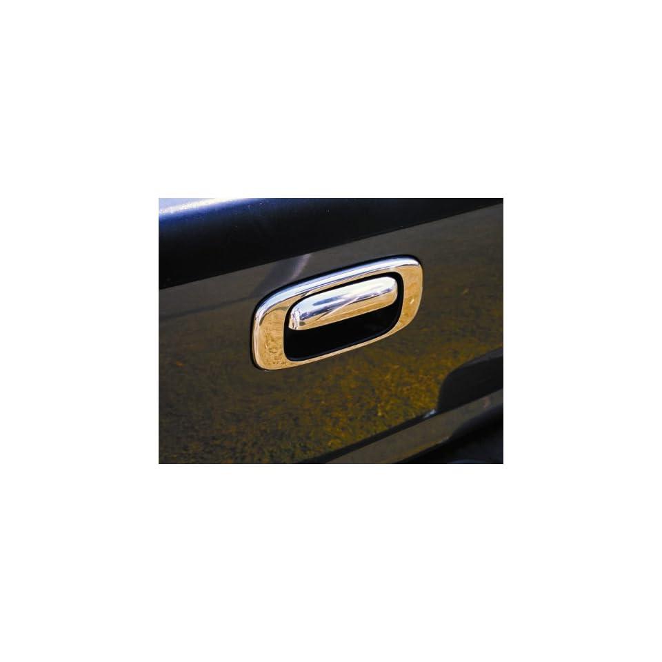 410H Chevrolet Silverado / GMC Sierra Truck 1999   2006 Chromed Stainless Steel Tailgate Handle Insert Accent (Housing Only)