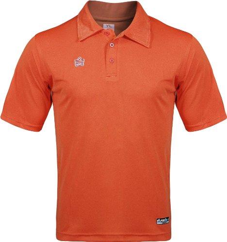 admiral classic soccer coach sideline polo shirt orange