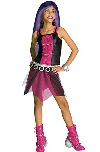 [Mememall Fashion Monster High Spectra Child Halloween Costume] (Spectra Costumes)
