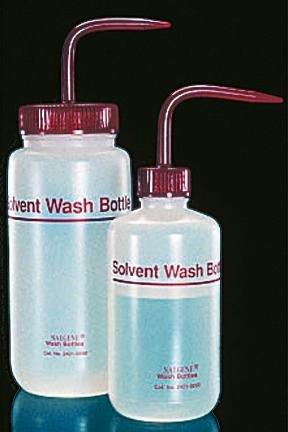 Nalgene Fluorinated Solvent Wash Bottle, Capacity: 8 Oz. front-993366