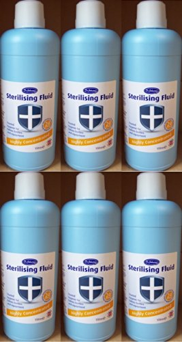 6-x-bottles-of-dr-johnsons-baby-sterilising-fluid-highly-concentrated-1-litre