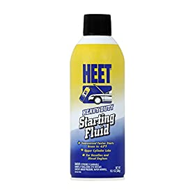 HEET SA16-12-12PK Starting Fluid, 10.1 av. oz. (Pack of 12)