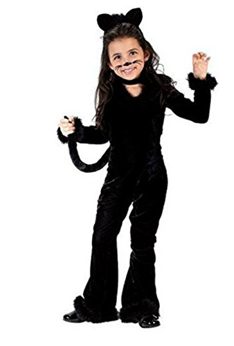 Toddler or Girls Unique Cat Costume - Playful Kitty Costume