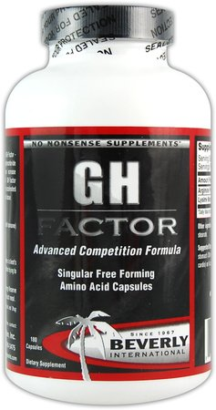 Beverly International GH Factor 180 Capsules (Beverly Energy Reserve compare prices)