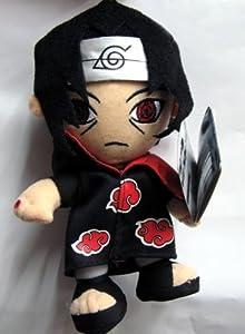 Naruto 8-inch UFO Itachi Uchiha Plush Figure + Pin