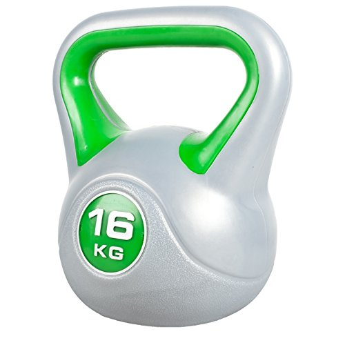 Gorilla Sports Kettlebell 16 kg in Plastica