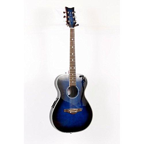 Daisy Rock Pixie Acoustic-Electric Guitar Blueberry Burst 888365249988