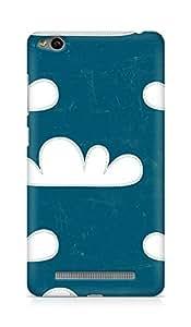 Amez designer printed 3d premium high quality back case cover for Xiaomi Redmi 3S (clouds)
