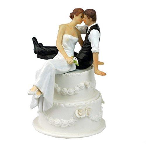 ACME-Figurine-Decoration-de-Mariage-Gateau-Topper-Wedding-Cake-Moderne-Romantique-Faveur-de-mariage-et-de-la-dcoration