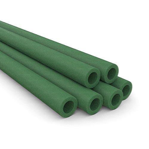 ampel-24-spare-foam-sleeves-for-trampoline-safety-net-poles-foam-sleeves-in-dark-grey-six-foam-safeg